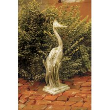 Animals Egret Garden Statue