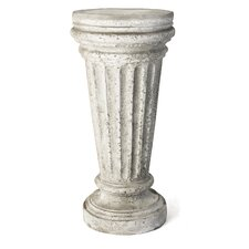 Buff Outdoor Pedestal