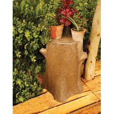 Tree Trunk Outdoor Pedestal