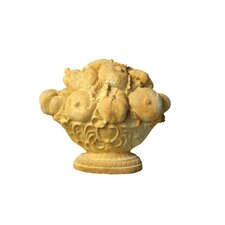 Oval Fruit Basket Statue