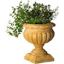 <strong>OrlandiStatuary</strong> Planter Tall Fluted Round Urn Planter