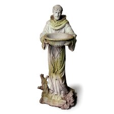 Religious Saint Francis with Bowl Statue
