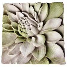 <strong>OrlandiStatuary</strong> Dahlia Plaque Wall Decor