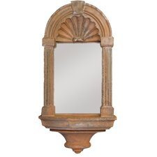 Classical Niche Mirror Wall Decor