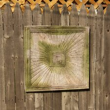 Radiant Square Frame Wall Decor