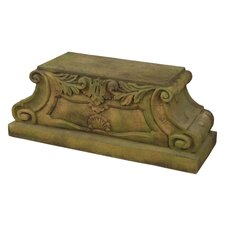 Scroll Season Outdoor Pedestal