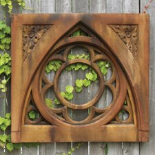 Religious Oak Leaf Tracery Wall Decor