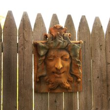 Gargoyles Heckling Green Man Wall Decor