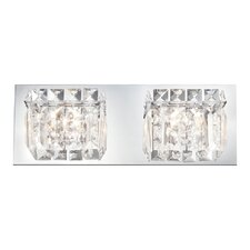 Crown 2 Light Bath Vanity Light