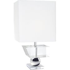 "Melting 27.5"" H Table Lamp with Square Shade"