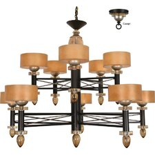 <strong>Van Teal</strong> Impressionist Danielle 10 Light Chandelier