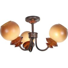 <strong>Van Teal</strong> Symphony Sonata Fixture 3 Light Semi-Flush Mount
