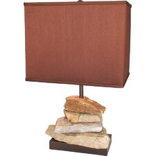 Earth Wise Rocky Mountain Table Lamp