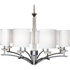 <strong>Van Teal</strong> On Sutil 8 Light Chandelier
