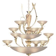 <strong>Van Teal</strong> Almost Autumn Persuasive 12 Light Chandelier