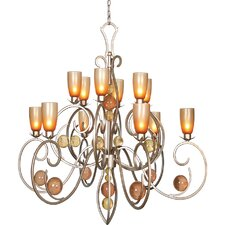 <strong>Van Teal</strong> Feelings Simple Passion 12 Light Chandelier