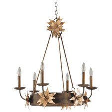 <strong>Flambeau Lighting</strong> Simone 6 Light Chandelier