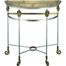Armory Demilune Console Table