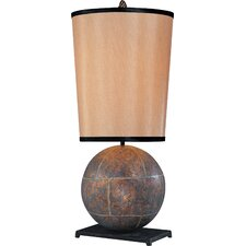 """Sphere 28"""" H Table Lamp Empire Shade"""