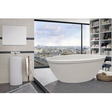 "Silence Freestanding 67"" x 35.5"" Soaking Tub"