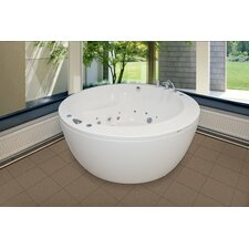 "Pamela Freestanding 68"" x 68"" Air Tub"