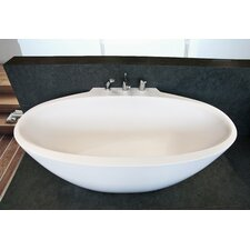 "Sensuality Mini Freestanding 66.5"" x 37"" Soaking Tub"
