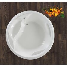 "Allegra Freestanding 74.75"" x 74.75"" Soaking Tub"