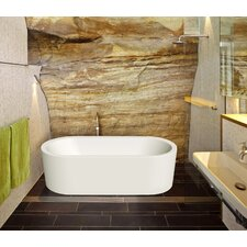 "Harmony Duo Freestanding 70.75"" x 31.5"" Soaking Tub"
