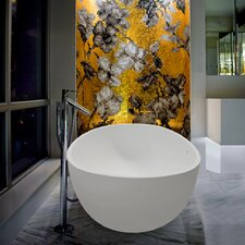 "PureScape Ovatus Freestanding 66.5"" x 36.5"" Soaking Tub"