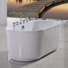 "PureScape 65"" x 32"" Freestanding Acrylic Bathtub"