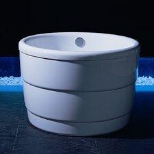 "PURESCAPE 39"" x 39"" Freestanding Acrylic Bathtub"