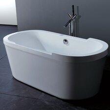 "PureScape 63"" x 30"" Freestanding Acrylic Bathtub"