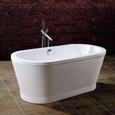 "PureScape 59"" x 28"" Freestanding Acrylic Bathtub"