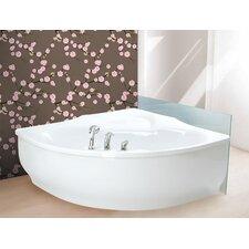 "PureScape Arcrylic 81"" x 63"" Corner Bathtub"
