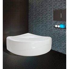"PureScape 84"" x 68"" Corner Acrylic Bathtub"