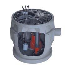 1/2 HP Simplex Sewage System