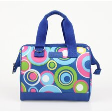 Insulated Fashion Style 34 Circles Lunch Tote