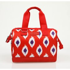 <strong>Sachi</strong> Insulated Fashion Style 34 Ikat Lunch Tote