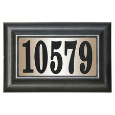 Edgewood Class Lighted Address Plaque Kit
