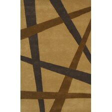 Eleen Camel Contemporary Rug