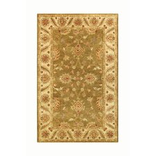 Golden Green/Beige Rug