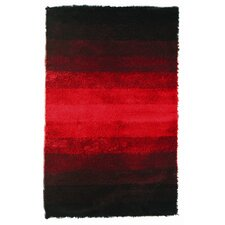 Jewel Black/Red Rug