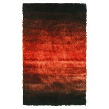 Jewel Black/Rust Rug