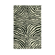 <strong>Noble House</strong> Safari Black/White Rug