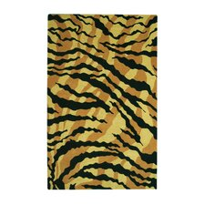 <strong>Noble House</strong> Safari Gold/Black Rug