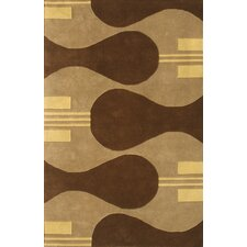 Eleen Camel/Brown Area Rug