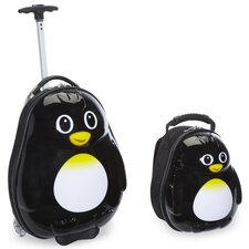 <strong>TrendyKid</strong> 2 Piece Percy Penguin Children's Luggage Set
