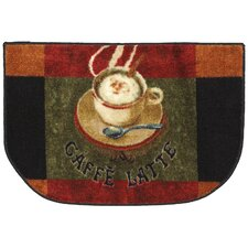 New Wave Kitchen Caffe Latte Area Rug