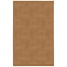 Casual Concepts Tiger Patch Apple Butter Rug