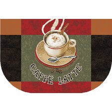 New Wave Kitchen Caffe Latte Novelty Rug